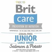 Brit Care Junior Large Breed Salmon & Potato 100 g, 1 kg, 3 kg, 12 kg