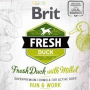 Brit Fresh Duck & Millet Adult Run & Work