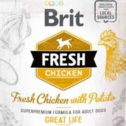 Brit Fresh Fresh Chicken & Potato Adult Great Life