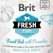 Brit Fresh Fresh Fish & Pumpkin Adult Large Muscles & Joints