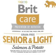 Brit care senior salmon & potato