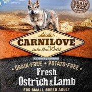 Carnilove Fresh Ostrich & Lamb Adult Small