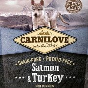 Carnilove salmon&turkey for puppies