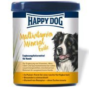Happy Dog Multivitamin Mineral Forte dla psa 400g, 1kg