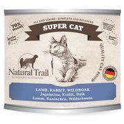 Natural Trail Super Cat jagnięcina królik dzik dla kota 200 g, 400 g